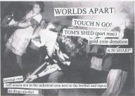 2009-01-23: Worlds Apart Flyer