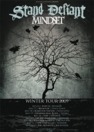 2009-07: Stand Defiant & Mindset: Winter Tour 2009 Flyer