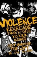 2009-11-21: Violence Flyer
