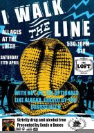 2009-04: I Walk the Line: Australia / New Zealand Tour: The Loft Flyer