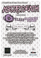 2009-04: asecretdeath: Love Below Tour Flyer