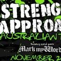 2009-11: Strength Approach: Australian Tour Flyer
